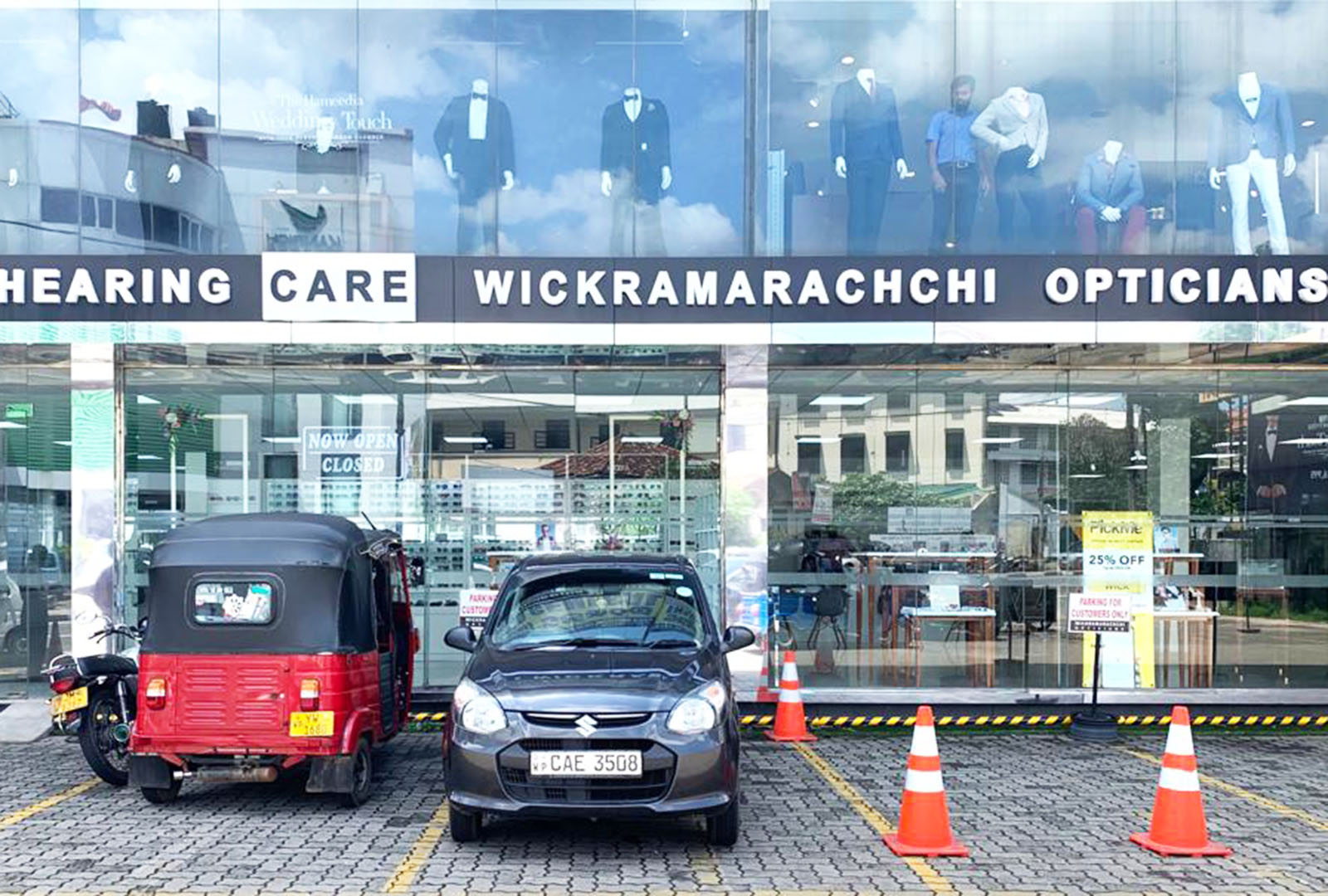 Wickramarachchi Opticians and Hearing care expanding